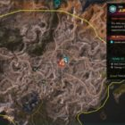 RAGE 2 Junkers Pass Ark Location Map