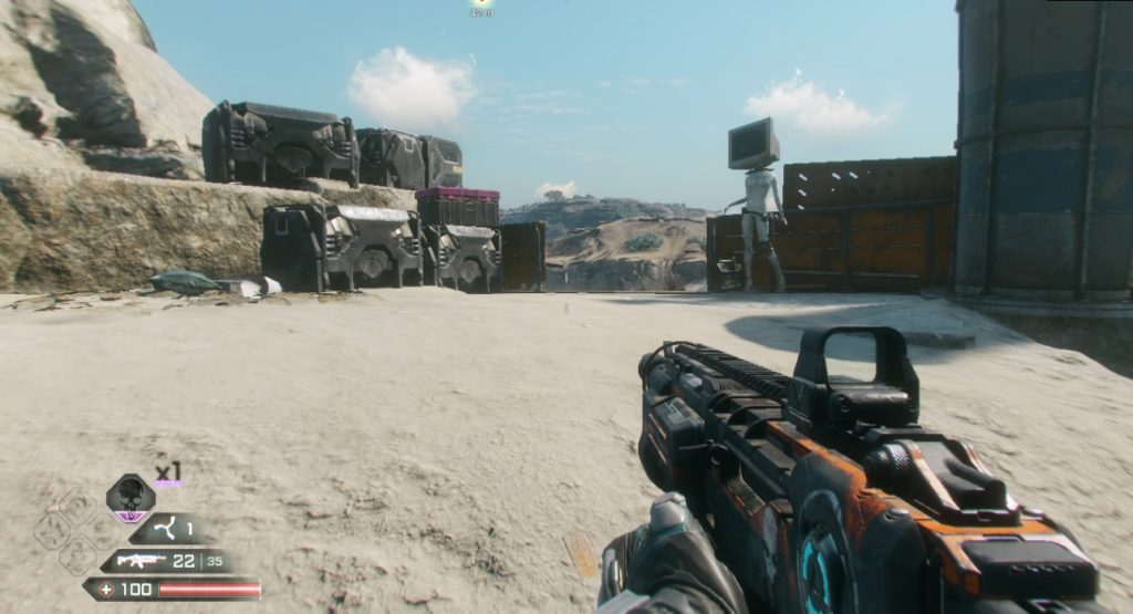 RAGE 2 Junkers Pass Ark Storage Container Location 1