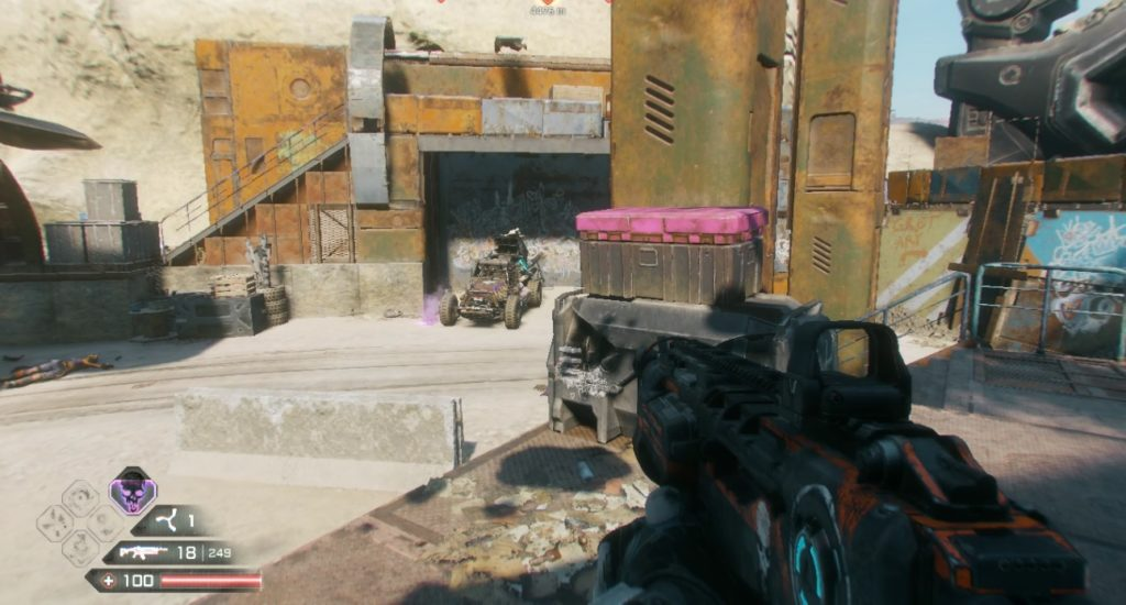 RAGE 2 Junkers Pass Ark Storage Container Location 3