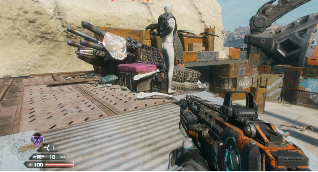 RAGE 2 Junkers Pass Ark Storage Container Location 4