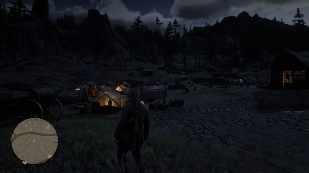 Red Dead Redemption 2 Appleseed Timber Co. Event Area