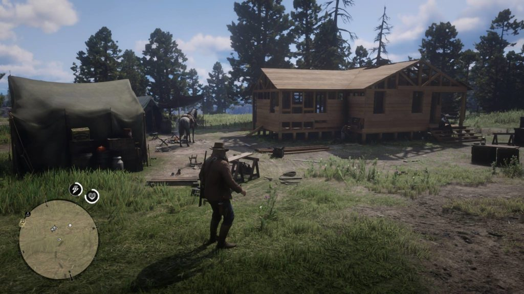 Red Dead Redemption 2 Castor's Ridge Event Area
