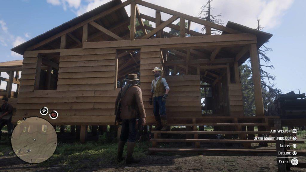 Red Dead Redemption 2 Castor's Ridge Stranger Request