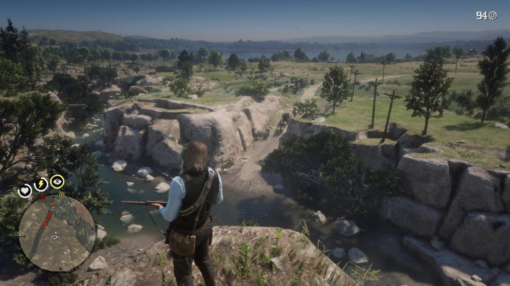 Red Dead Redemption 2 Fort Riggs Coach Robbery Location