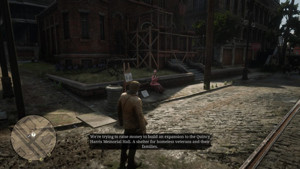 Red Dead Redemption 2 Fundraiser Stranger Mission Wiki Guide 1