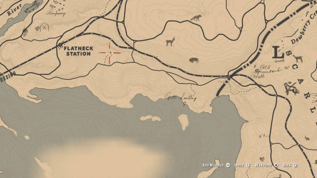 Red Dead Redemption 2 Harmonica Location 1