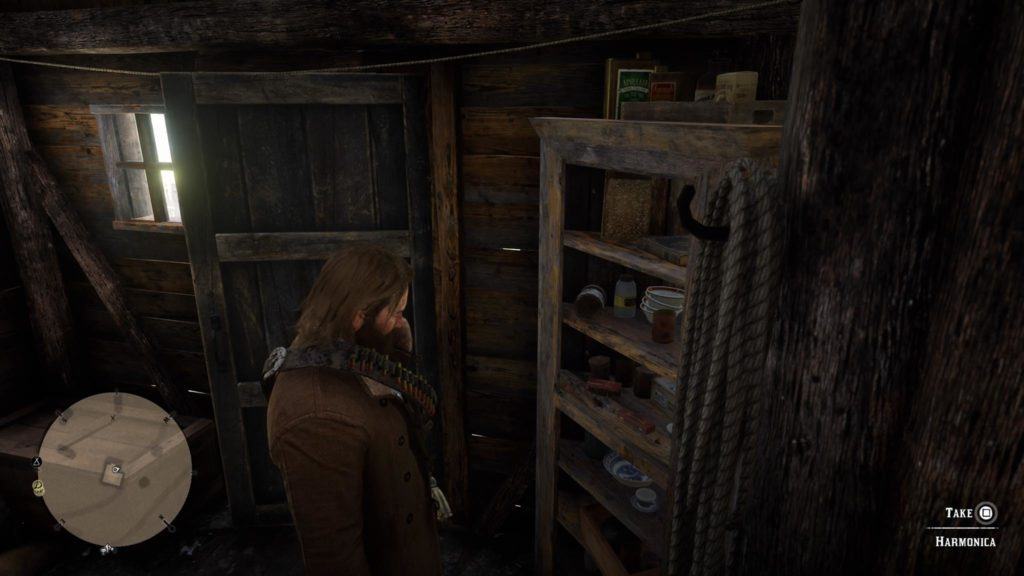 Red Dead Redemption 2 Harmonica Location 2