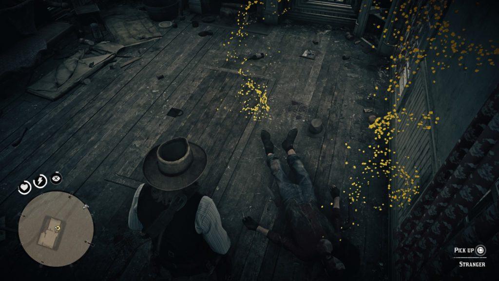 Red Dead Redemption 2 Compson's pistol location
