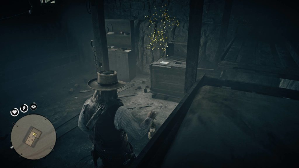 Red Dead Redemption 2 Compson's ledger location