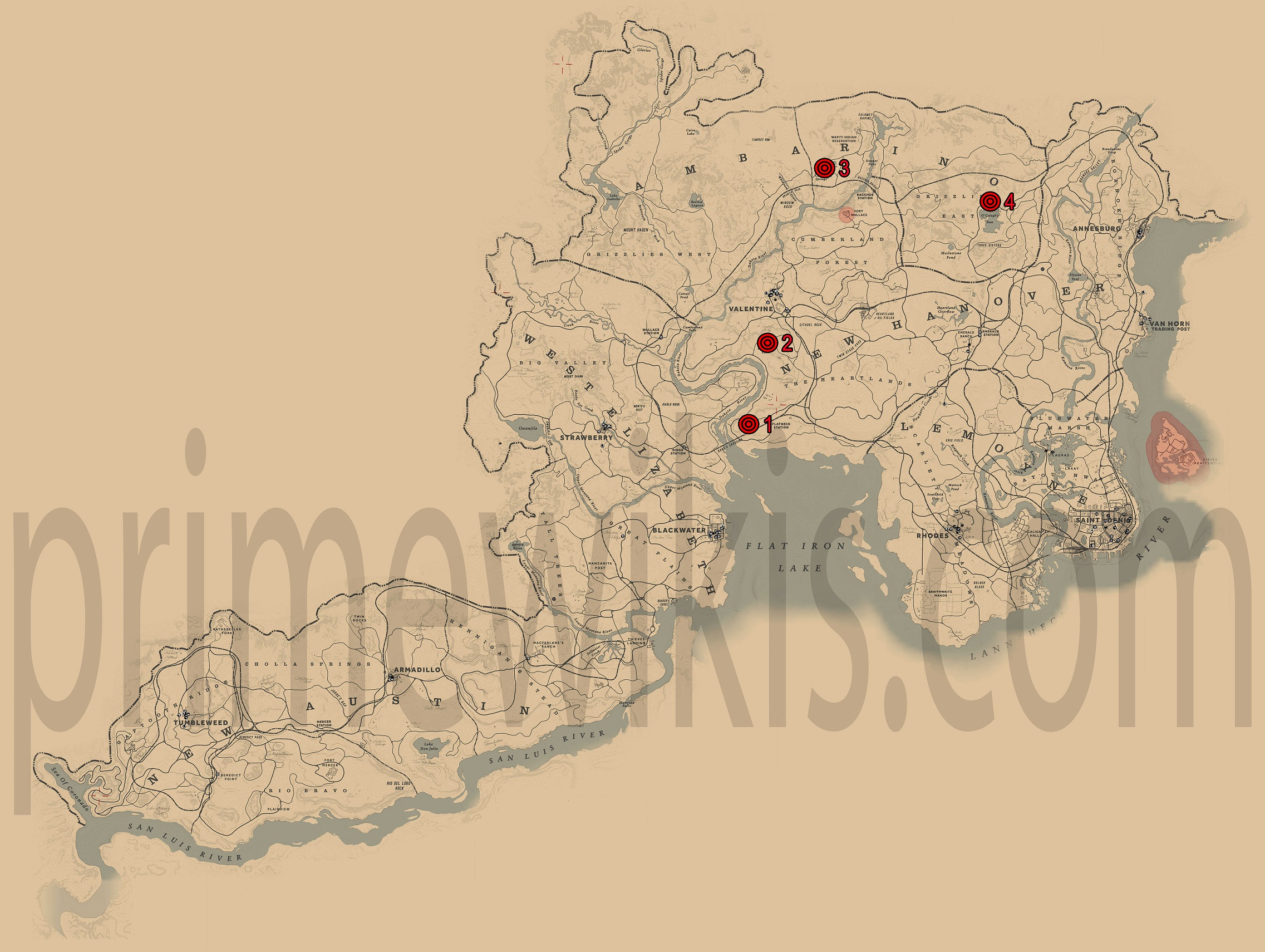 Map 3 Locations.Jack Hall Gang Treasure Hunt Red Dead Redemption 2 Guide Primewikis