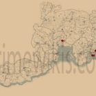 Red Dead Rdemption 2 Le Tresor Des Morts Treasure Hunt Locations Map