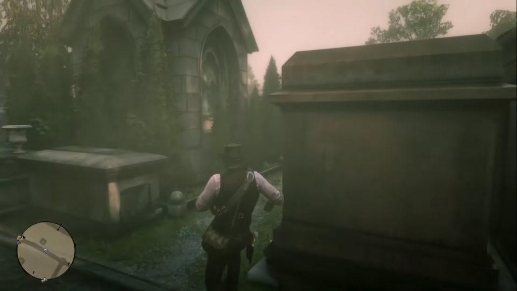 Red Dead Redemption 2 Le Tresor Des Morts Treasure Location