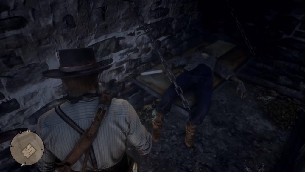 Red Dead Redemption 2 Le Tresor Des Morts Treasure Map 1 Location 2