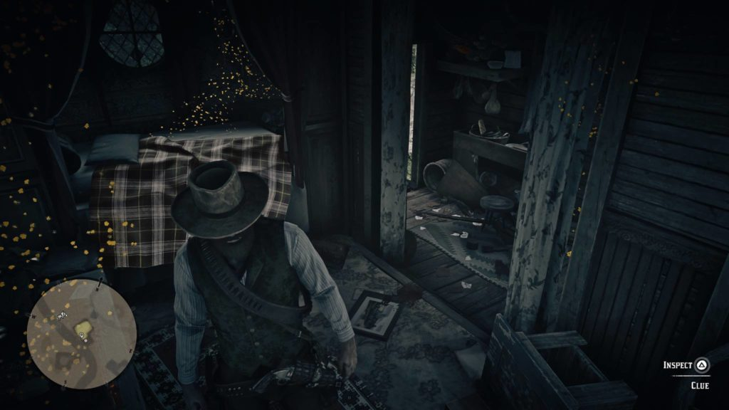 Red Dead Redemption 2 Trelawny's caravan clues