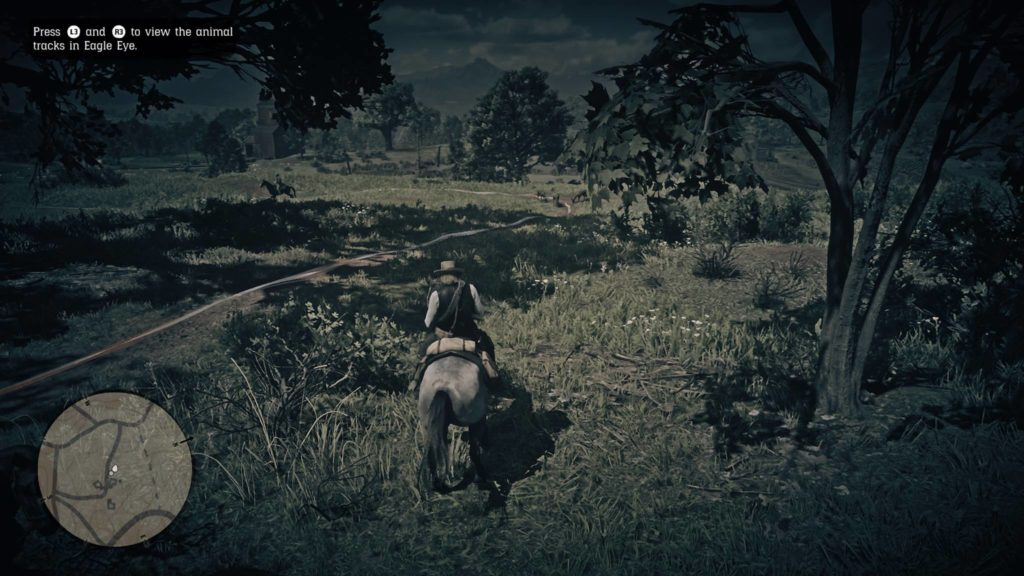 Red Dead Redemption 2 Trelawny's track