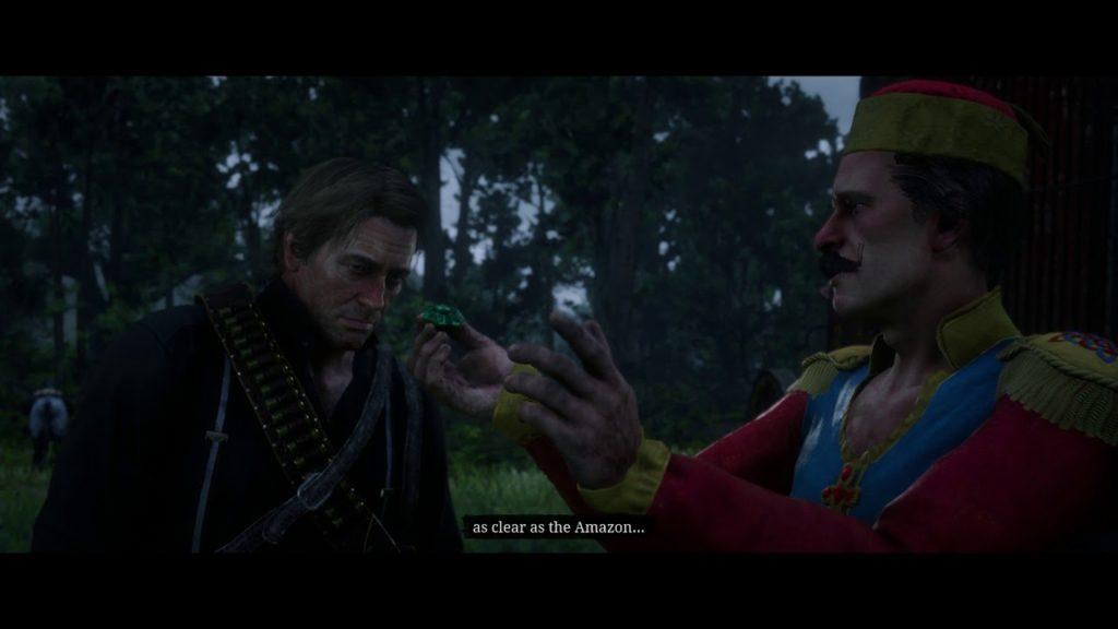 Red Dead Redemption 2 Emerald Gem Reward