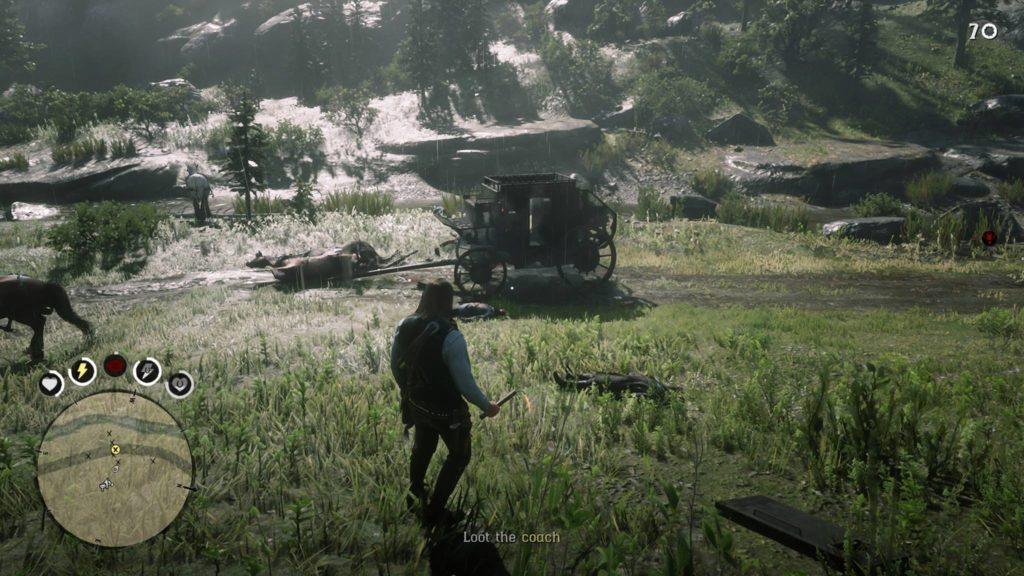 Red Dead Redemption 2 Owanjila Coach Robbery Location