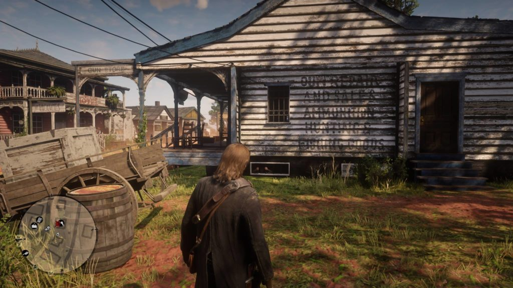 Red Dead Redemption 2 Rhodes Gunsmith Robbery Guide 1