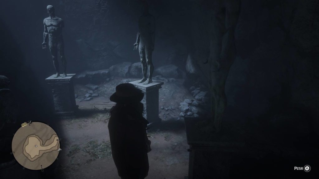 Red Dead Redemption 2 Strange Statues Puzzle Room