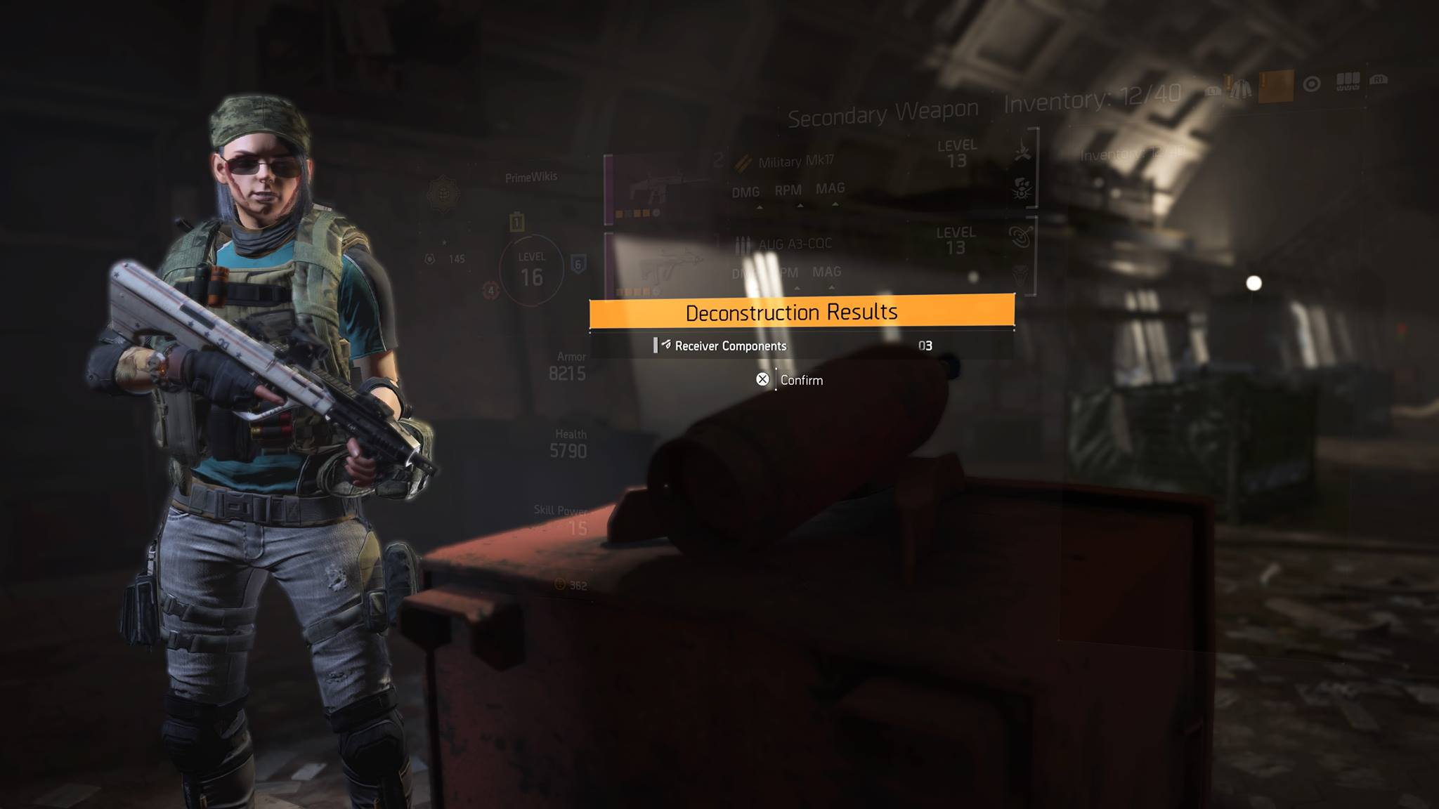 Receiver Components | Division 2 | Locations Guide | How to