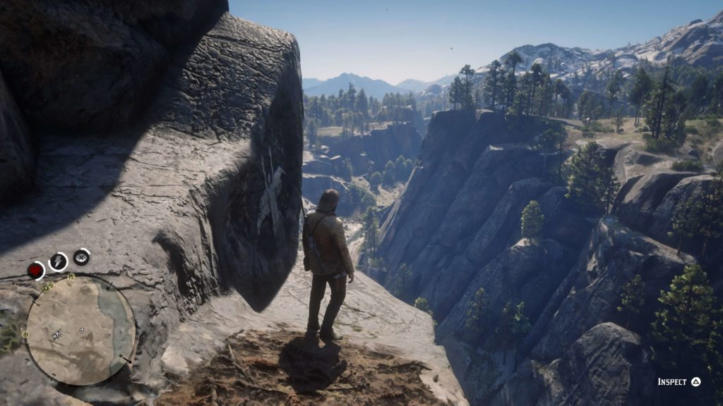 RDR2 Bacchus Station Rock Carving Location