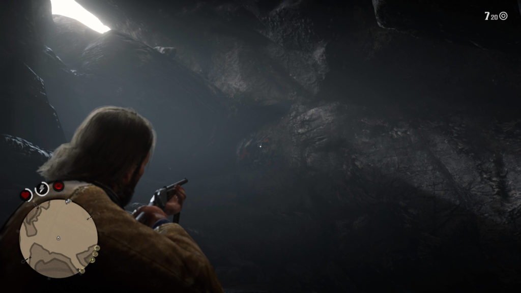 RDR2 Cave Painting Puzzle Location
