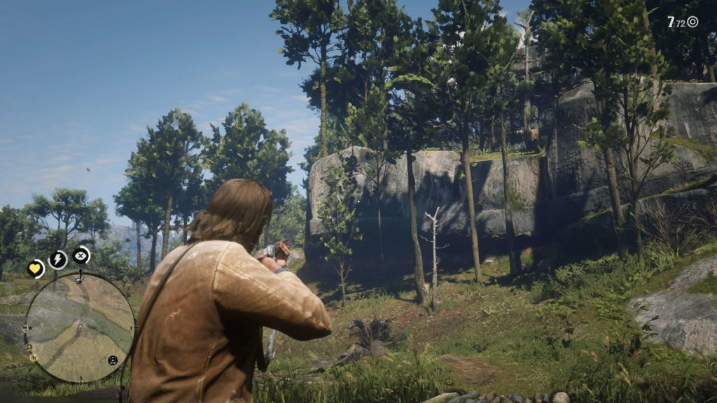 RDR2 Elysian Pool Rock Carving Location