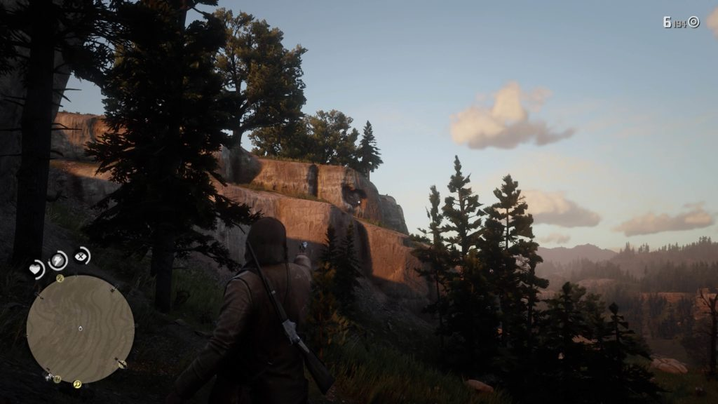 RDR2 Horseshoe Overlook Rock Carving Location