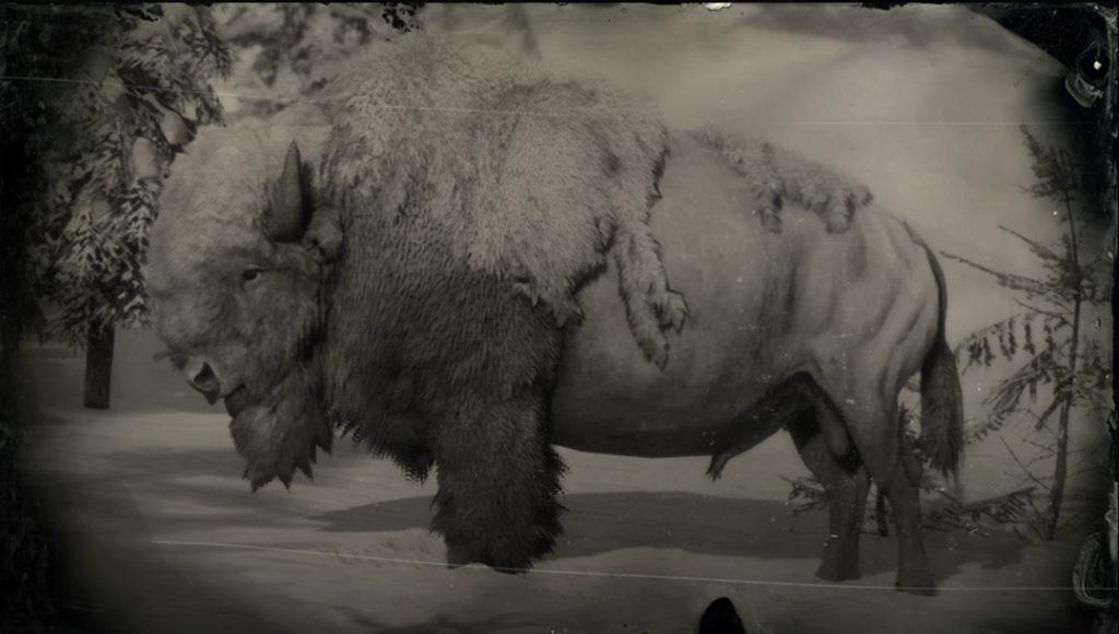 RDR2 Legendary Bison