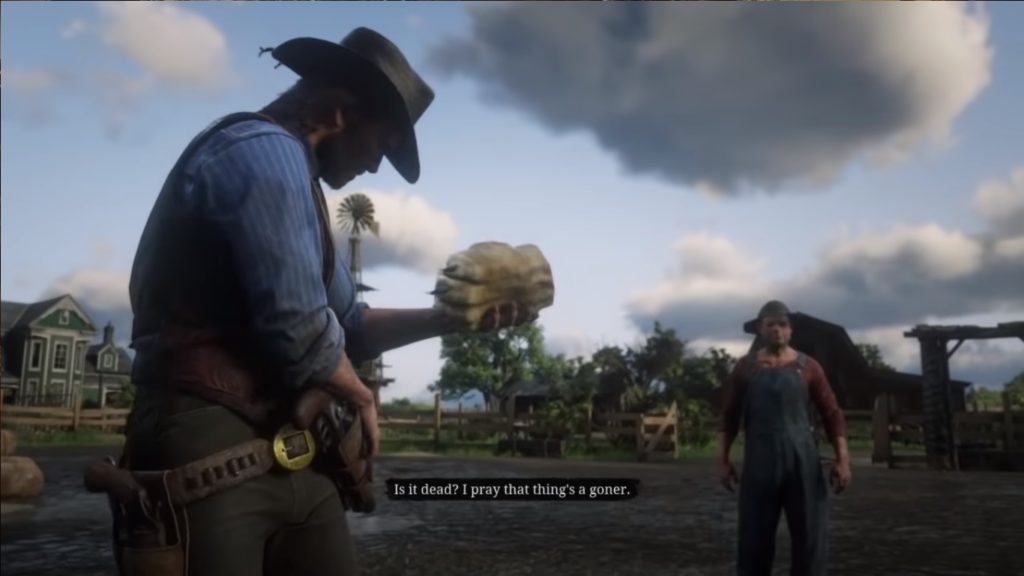 RDR2 Lion's Paw Location