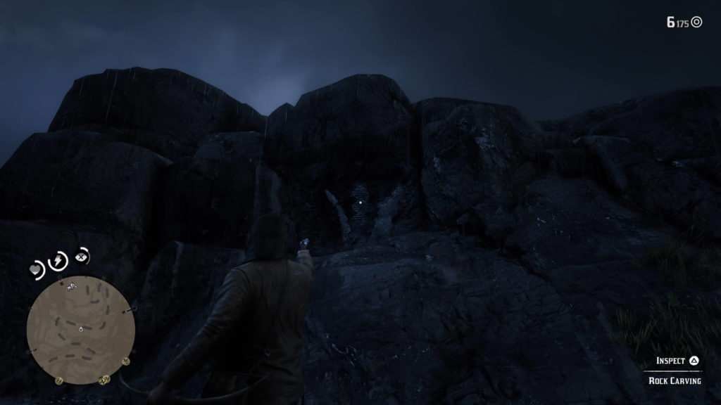 RDR2 Mount Shann Rock Carving Location