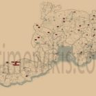 RDR2 All Unique Collectibles Locations Map