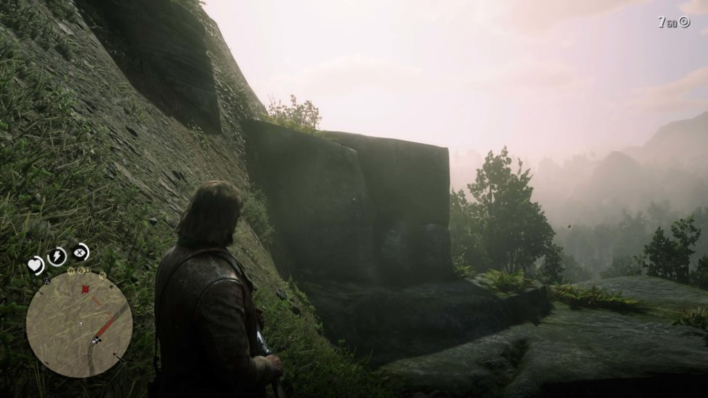 RDR2 Roanoke Ridge Rock Carving Location