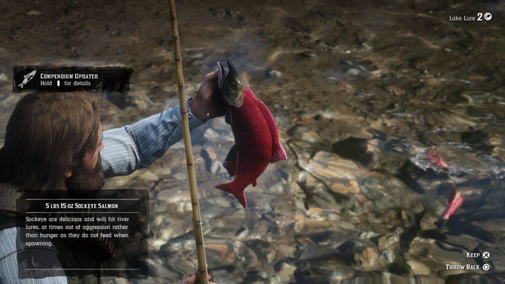 Red Dead Redemption 2 Common Sockeye Salmon