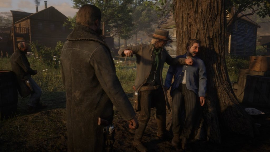 RDR2 Town Chance Encounters