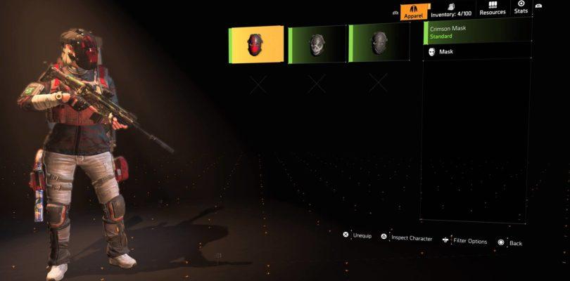 Tom Clancy's The Division 2: Crimson Hunter Mask Location
