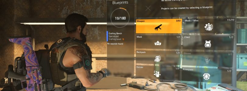 The Division 2 Receiver Components Locations