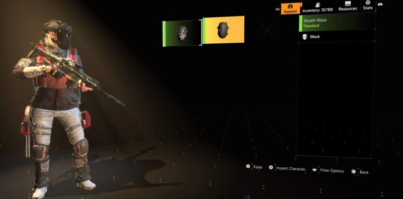 The Division 2 Wraith Mask
