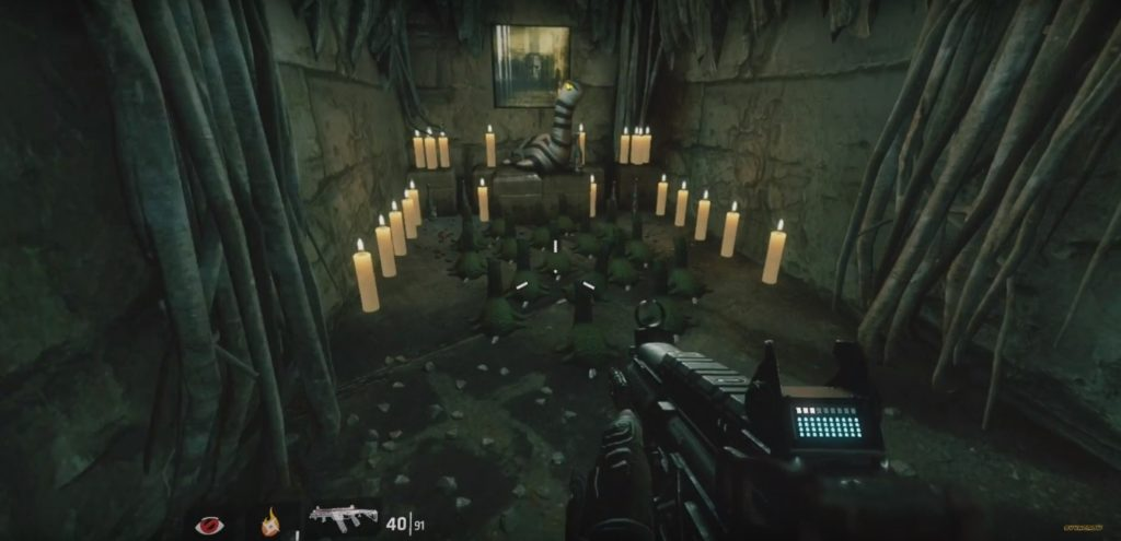 Titanfall 2 Hidden Nessie Shrine Easter Egg