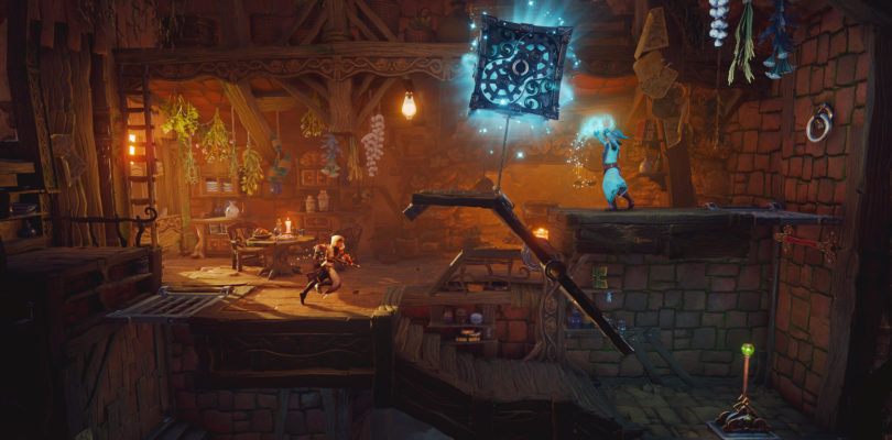 Trine 4 Trine 4: The Nightmare Prince PS4 Xbox One PC Switch