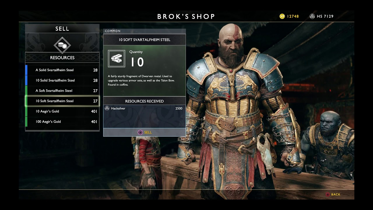 tyr God Of War Armor